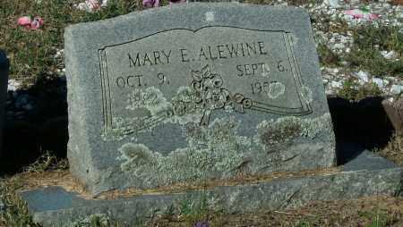 ALEWINE, MARY E - Pope County, Arkansas | MARY E ALEWINE - Arkansas Gravestone Photos