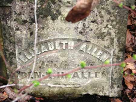 ALLEN, ELIZABETH - Pope County, Arkansas | ELIZABETH ALLEN - Arkansas Gravestone Photos