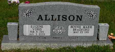 ALLISON, EUGENE VORIS - Pope County, Arkansas   EUGENE VORIS ALLISON - Arkansas Gravestone Photos