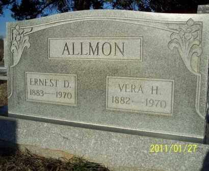 ALLMON, VERA H - Pope County, Arkansas   VERA H ALLMON - Arkansas Gravestone Photos