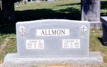PIERCE ALLMON, SARAH ELIZABETH - Pope County, Arkansas | SARAH ELIZABETH PIERCE ALLMON - Arkansas Gravestone Photos