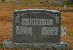 ANDERSON, ROBERT A - Pope County, Arkansas | ROBERT A ANDERSON - Arkansas Gravestone Photos