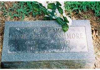 OVERBEY ASHMORE, EDNA EARL - Pope County, Arkansas   EDNA EARL OVERBEY ASHMORE - Arkansas Gravestone Photos