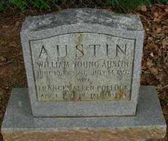 POLLOCK AUSTIN, FRANCES ALLEN - Pope County, Arkansas   FRANCES ALLEN POLLOCK AUSTIN - Arkansas Gravestone Photos
