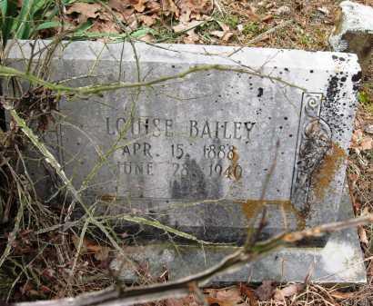 BAILEY, LOUISE - Pope County, Arkansas | LOUISE BAILEY - Arkansas Gravestone Photos