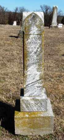 BARBER, JANE M - Pope County, Arkansas   JANE M BARBER - Arkansas Gravestone Photos