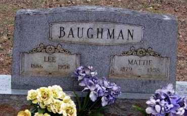 BAUGHMAN, LEE - Pope County, Arkansas | LEE BAUGHMAN - Arkansas Gravestone Photos