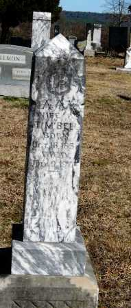 BELL, A  M - Pope County, Arkansas | A  M BELL - Arkansas Gravestone Photos