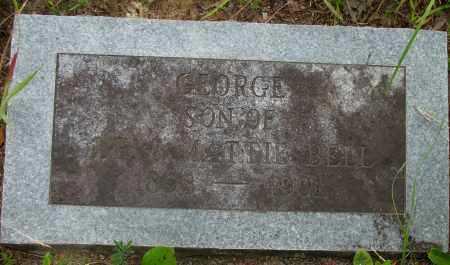 BELL, GEORGE - Pope County, Arkansas | GEORGE BELL - Arkansas Gravestone Photos