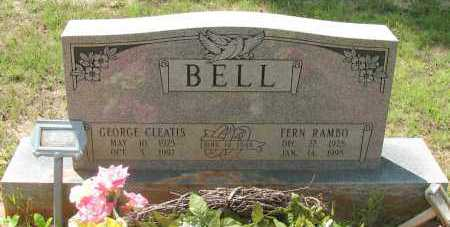 RAMBO BELL, FERN - Pope County, Arkansas | FERN RAMBO BELL - Arkansas Gravestone Photos