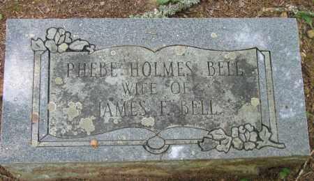 HOLMES BELL, PHEBE - Pope County, Arkansas | PHEBE HOLMES BELL - Arkansas Gravestone Photos