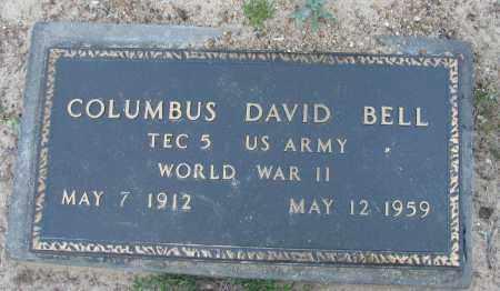 BELL (VETERAN WWII), COLUMBUS DAVID - Pope County, Arkansas   COLUMBUS DAVID BELL (VETERAN WWII) - Arkansas Gravestone Photos