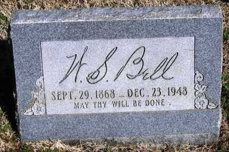 BELL, W  S - Pope County, Arkansas   W  S BELL - Arkansas Gravestone Photos