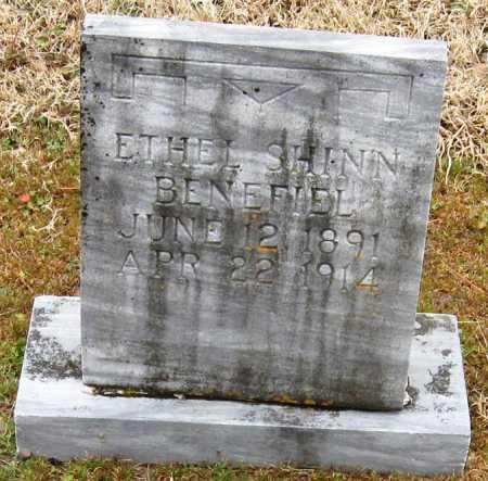 SHINN BENEFIEL, ETHEL - Pope County, Arkansas | ETHEL SHINN BENEFIEL - Arkansas Gravestone Photos