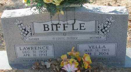 BIFFLE, VELLA - Pope County, Arkansas | VELLA BIFFLE - Arkansas Gravestone Photos