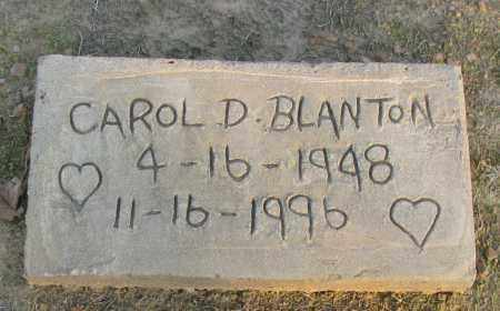 BLANTON, CAROL D - Pope County, Arkansas   CAROL D BLANTON - Arkansas Gravestone Photos
