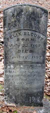 BLOUNT, FELIX - Pope County, Arkansas | FELIX BLOUNT - Arkansas Gravestone Photos