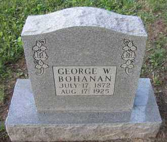 BOHANAN, GEORGE W - Pope County, Arkansas | GEORGE W BOHANAN - Arkansas Gravestone Photos