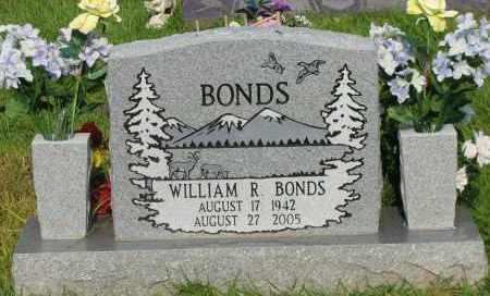 BONDS, WILLIAM R - Pope County, Arkansas | WILLIAM R BONDS - Arkansas Gravestone Photos