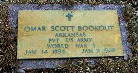 BOOKOUT  (VETERAN WWI), OMAR SCOTT - Pope County, Arkansas | OMAR SCOTT BOOKOUT  (VETERAN WWI) - Arkansas Gravestone Photos