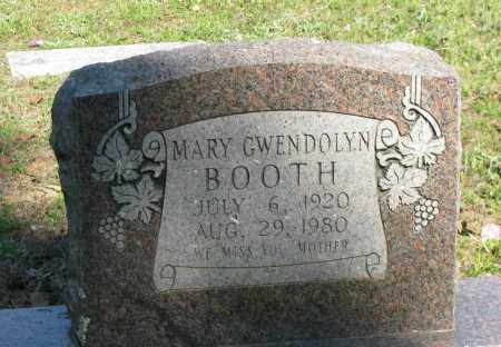 BOOTH, MARY GWENDOLYN - Pope County, Arkansas | MARY GWENDOLYN BOOTH - Arkansas Gravestone Photos