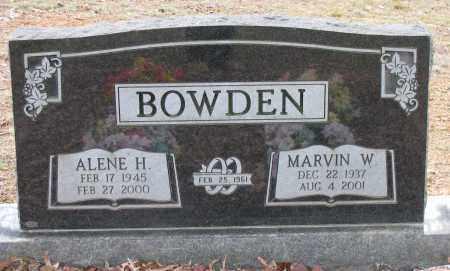 BOWDEN, MARVIN W - Pope County, Arkansas | MARVIN W BOWDEN - Arkansas Gravestone Photos