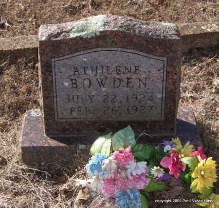 BOWDEN, ATHILENE - Pope County, Arkansas | ATHILENE BOWDEN - Arkansas Gravestone Photos