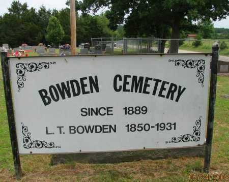 *BOWDEN CEMETERY GATE,  - Pope County, Arkansas |  *BOWDEN CEMETERY GATE - Arkansas Gravestone Photos