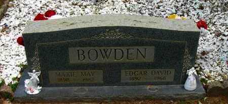 BOWDEN, EDGAR DAVID - Pope County, Arkansas | EDGAR DAVID BOWDEN - Arkansas Gravestone Photos