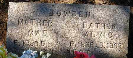 BOWDEN, ALVIS ROBERT - Pope County, Arkansas | ALVIS ROBERT BOWDEN - Arkansas Gravestone Photos