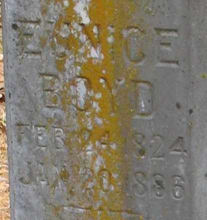 CLELAND BOYD, EUNICE (CLOSEUP) - Pope County, Arkansas | EUNICE (CLOSEUP) CLELAND BOYD - Arkansas Gravestone Photos