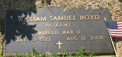 BOYD (VETERAN WWII), WILLIAM S - Pope County, Arkansas | WILLIAM S BOYD (VETERAN WWII) - Arkansas Gravestone Photos