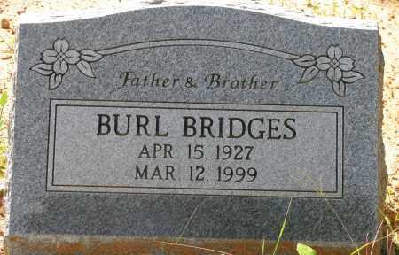 BRIDGES, BURL - Pope County, Arkansas | BURL BRIDGES - Arkansas Gravestone Photos