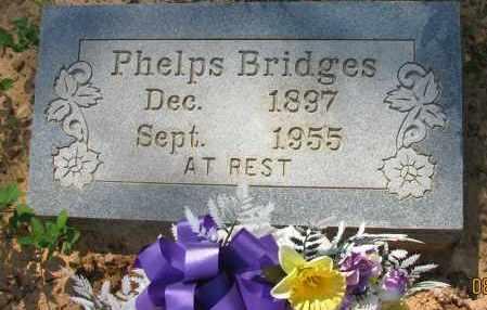 BRIDGES, PHELPS - Pope County, Arkansas | PHELPS BRIDGES - Arkansas Gravestone Photos