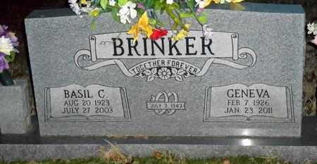 "BALL BRINKER, GENEVA ""GINNY"" - Pope County, Arkansas | GENEVA ""GINNY"" BALL BRINKER - Arkansas Gravestone Photos"