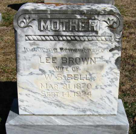 BROWN, LEE - Pope County, Arkansas   LEE BROWN - Arkansas Gravestone Photos