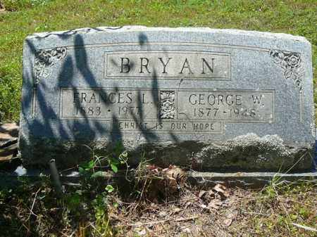 BRYAN, FRANCES - Pope County, Arkansas | FRANCES BRYAN - Arkansas Gravestone Photos