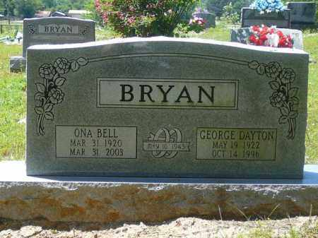 BRYAN, ONA BELL - Pope County, Arkansas | ONA BELL BRYAN - Arkansas Gravestone Photos