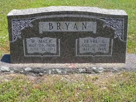 BRYAN, W MACK - Pope County, Arkansas | W MACK BRYAN - Arkansas Gravestone Photos