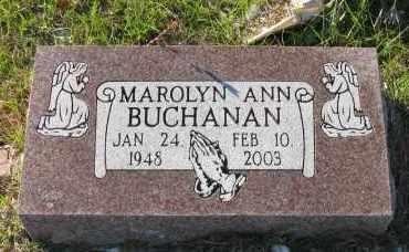 BUCHANAN, MAROLYN ANN - Pope County, Arkansas | MAROLYN ANN BUCHANAN - Arkansas Gravestone Photos