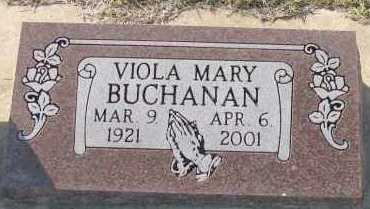 BUCHANAN, VIOLA MARY - Pope County, Arkansas | VIOLA MARY BUCHANAN - Arkansas Gravestone Photos