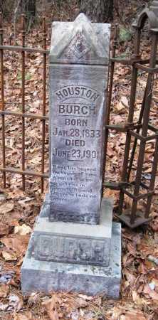BURCH, HOUSTON - Pope County, Arkansas | HOUSTON BURCH - Arkansas Gravestone Photos
