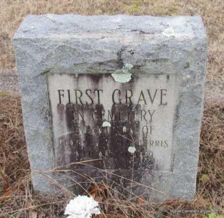 BURRIS, INFANT SON - Pope County, Arkansas   INFANT SON BURRIS - Arkansas Gravestone Photos