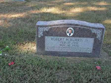 BURRIS, JR., ROBERT H - Pope County, Arkansas | ROBERT H BURRIS, JR. - Arkansas Gravestone Photos