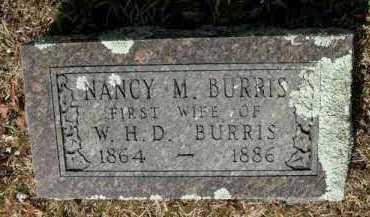 BURRIS, NANCY MILDRED - Pope County, Arkansas | NANCY MILDRED BURRIS - Arkansas Gravestone Photos