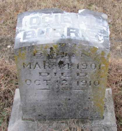 BURRIS, OCIE MYRTIS - Pope County, Arkansas   OCIE MYRTIS BURRIS - Arkansas Gravestone Photos