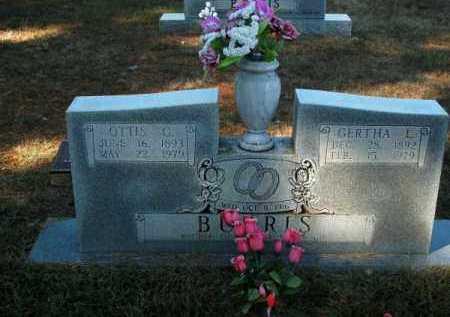 BURRIS, GERTHA L - Pope County, Arkansas   GERTHA L BURRIS - Arkansas Gravestone Photos