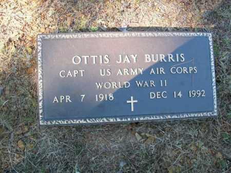 BURRIS (VETERAN WWII), OTTIS JAY - Pope County, Arkansas   OTTIS JAY BURRIS (VETERAN WWII) - Arkansas Gravestone Photos