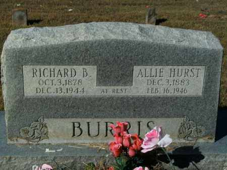 BURRIS, RICHARD BENJAMIN - Pope County, Arkansas | RICHARD BENJAMIN BURRIS - Arkansas Gravestone Photos