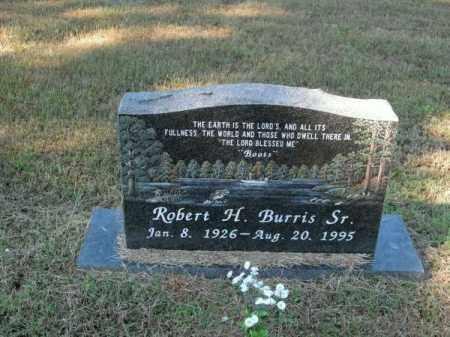 BURRIS, SR., ROBERT H - Pope County, Arkansas | ROBERT H BURRIS, SR. - Arkansas Gravestone Photos